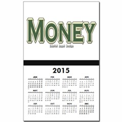 Money Calendar Print