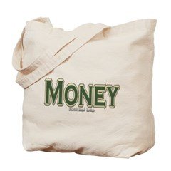 Money Canvas Tote Bag