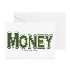 Money Greeting Cards (Pk of 10)