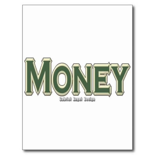 Money Postcard