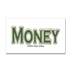 Money Rectangle Decal