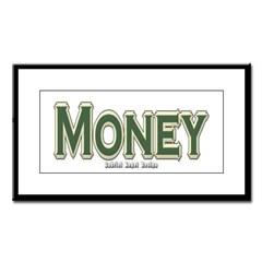 Money Small Framed Print