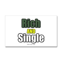 Rich AND Single Rectangle Decal