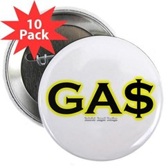 "GAS 2.25"" Button (10 pack)"