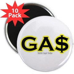 "GAS 2.25"" Magnet (10 pack)"