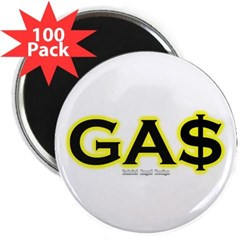 "GAS 2.25"" Magnet (100 pack)"