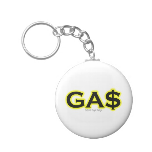 GAS Basic Button Keychain