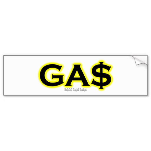 GAS Bumper Sticker