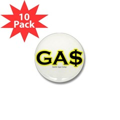 GAS Mini Button (10 pack)