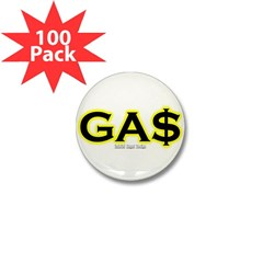 GAS Mini Button (100 pack)