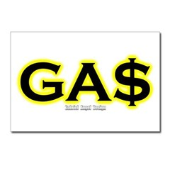 GAS Postcards (Package of 8)