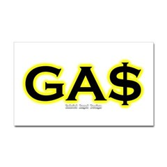 GAS Rectangle Decal