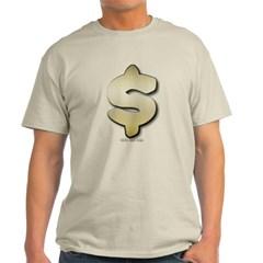 Golden Dollar Sign Classic T-Shirt