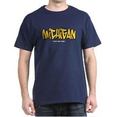 Michigan Graffiti Dark T-shirt