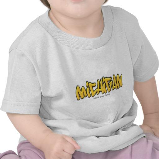 Michigan Graffiti Infant T-Shirt
