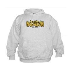 Michigan Graffiti Kids Sweatshirt by Hanes