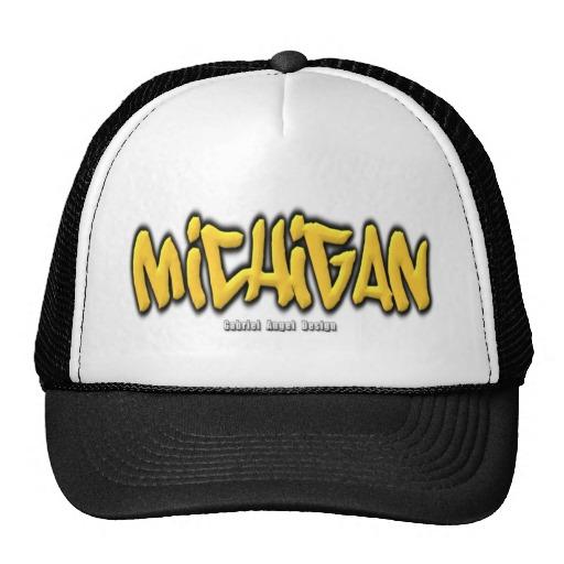 Michigan Graffiti Trucker Hat