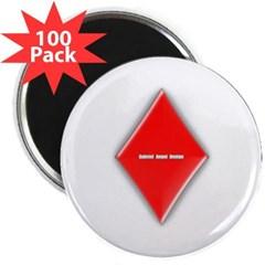 "Of Diamonds 2.25"" Magnet (100 pack)"