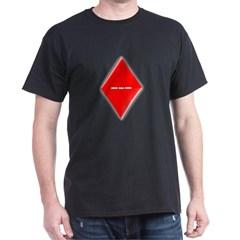 Of Diamonds Dark T-shirt