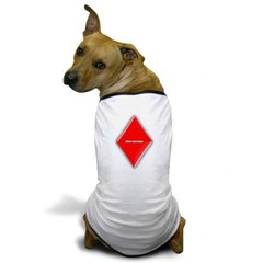 Of Diamonds Dog T-Shirt
