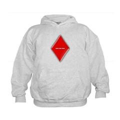 Of Diamonds Kids Sweatshirt by Hanes