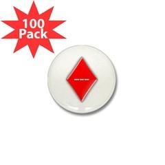 Of Diamonds Mini Button (100 pack)