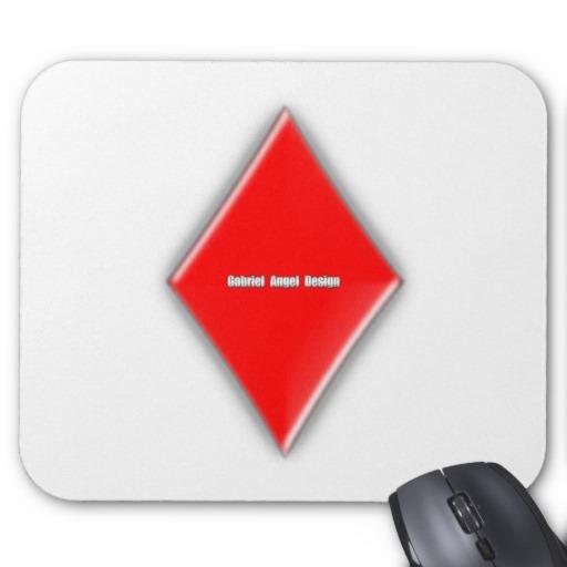 Of Diamonds Mousepad