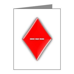Of Diamonds Note Cards (Pk of 10)