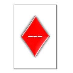 Of Diamonds Postcards (Package of 8)