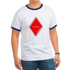 Of Diamonds Ringer T-Shirt
