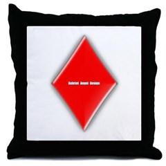 Of Diamonds Throw Pillow