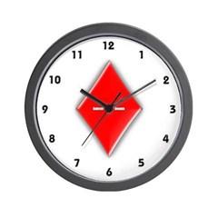 Of Diamonds Wall Clock