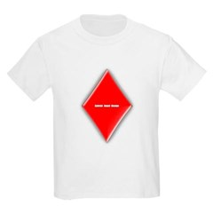 Of Diamonds Youth T-Shirt by Hanes