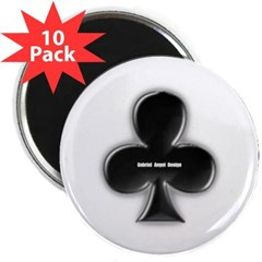 "Of Clubs 2.25"" Magnet (10 pack)"
