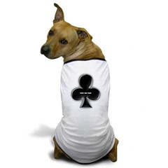 Of Clubs Dog T-Shirt