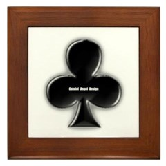 Of Clubs Framed Tile