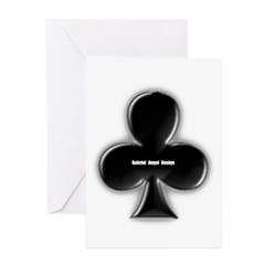 Of Clubs Greeting Cards (Pk of 10)