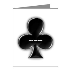 Of Clubs Note Cards (Pk of 20)