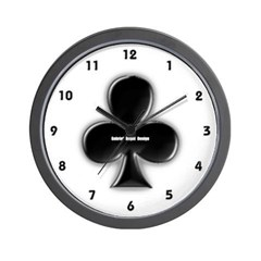 Of Clubs Wall Clock
