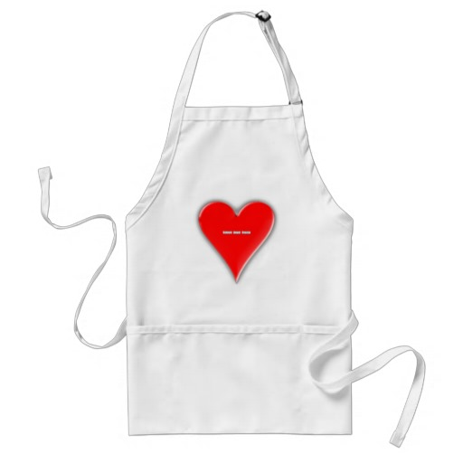 Hearts Suit Adult Apron