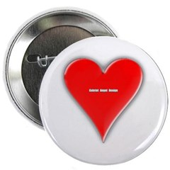 "Of Hearts 2.25"" Button"