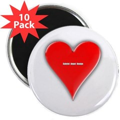 """Of Hearts 2.25"""" Magnet (10 pack)"""