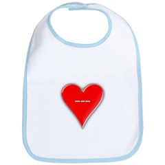 Of Hearts Baby Bib