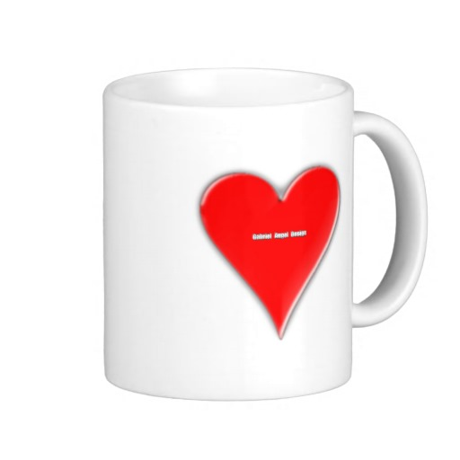 Of Hearts Classic White Mug