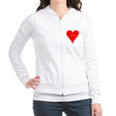 Of Hearts Junior Zip Hoodie