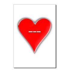 Of Hearts Postcards (Package of 8)