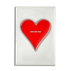 Of Hearts Rectangle Magnet