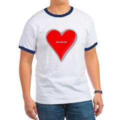 Of Hearts Ringer T-Shirt