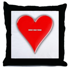 Of Hearts Throw Pillow