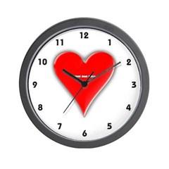 Of Hearts Wall Clock